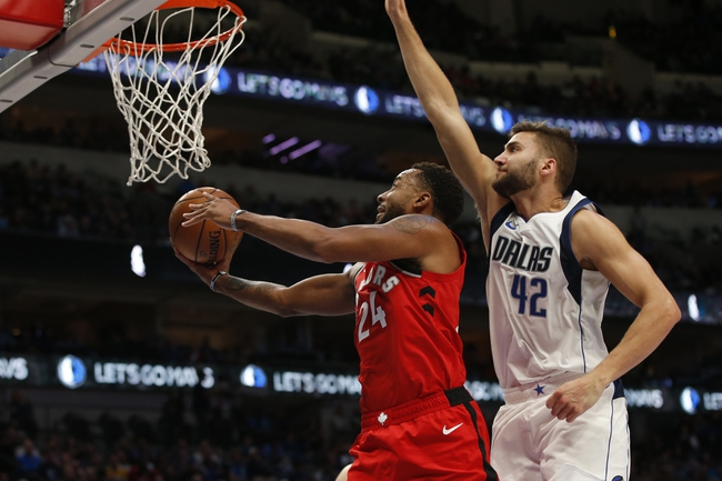 Toronto Raptors vs. Dallas Mavericks - 12/22/19 NBA Pick, Odds & Prediction