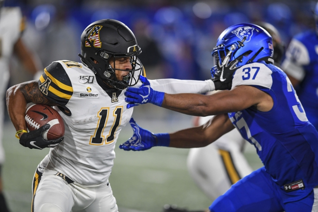 Georgia State at Appalachian State 11/14/20 College Football Picks and Predictions