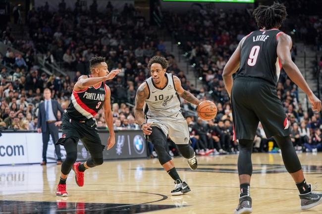 Portland Trail Blazers vs. San Antonio Spurs - 2/6/20 NBA Pick, Odds, and Prediction