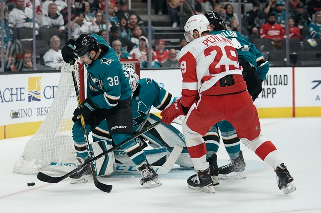 Detroit Red Wings vs. San Jose Sharks - 12/31/19 NHL Pick, Odds & Prediction