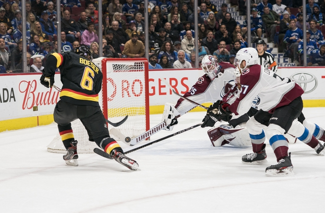 Vancouver Canucks vs. Colorado Avalanche - 3/6/20 NHL Pick, Odds, and Prediction