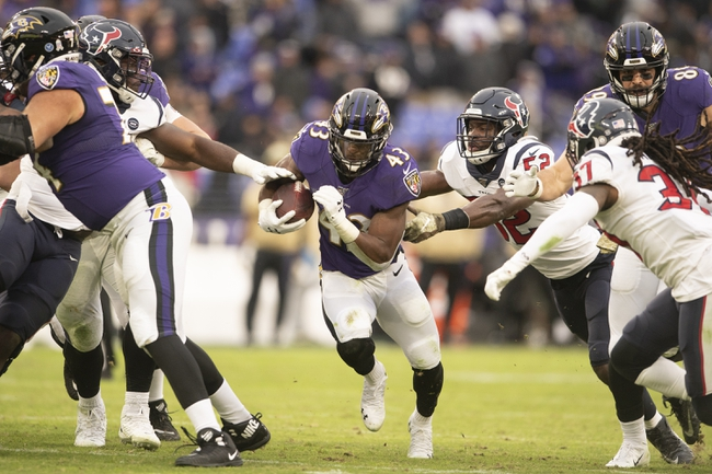 Baltimore Ravens at Houston Texans - 9/20/20 NFL Picks and Prediction