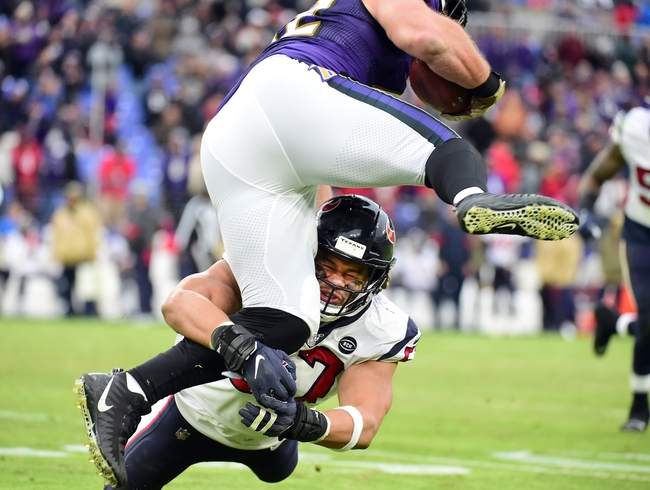Baltimore Ravens at Houston Texans - 9/20/20 NFL Pick, Odds, and Prediction