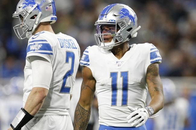 Washington Redskins vs. Detroit Lions - 11/24/19 NFL Pick, Odds, and Prediction