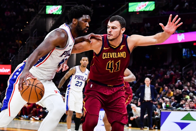 Philadelphia 76ers vs. Cleveland Cavaliers - 12/7/19 NBA Pick, Odds, and Prediction