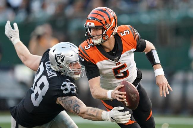 Cincinnati Bengals vs. Oakland Raiders - 5/29/20 Madden 20 Sim NFL Pick, Odds, and Prediction