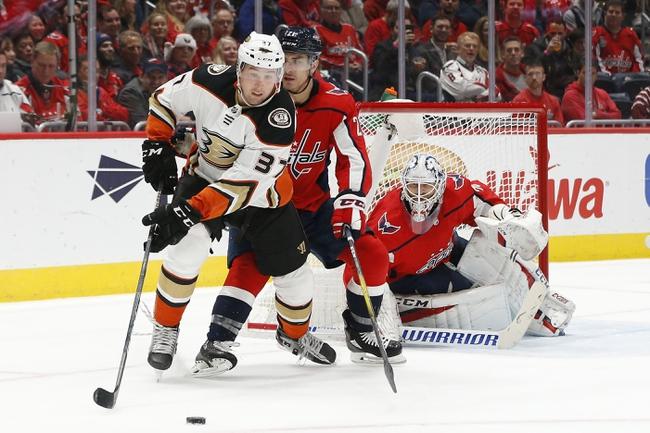 Anaheim Ducks vs. Washington Capitals - 12/6/19 NHL Pick, Odds, and Prediction