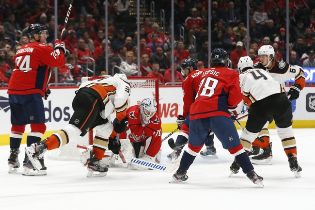 Florida Panthers vs. Anaheim Ducks - 11/21/19 NHL Pick, Odds, and Prediction