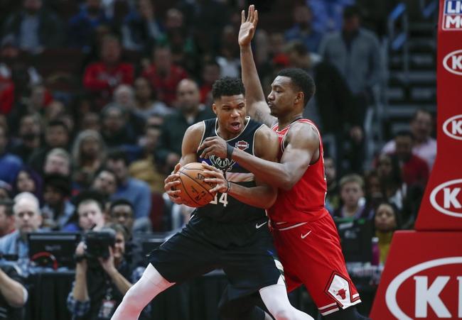 Chicago Bulls vs. Milwaukee Bucks - 12/30/19 NBA Pick, Odds, and Prediction