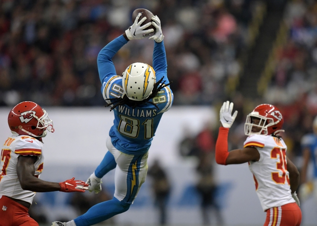 Los Angeles Chargers at Kansas City Chiefs - 12/29/19 NFL Pick, Odds, and Prediction