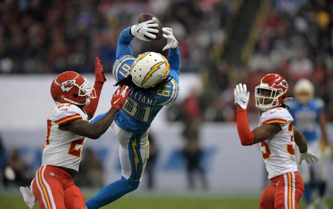 Kansas City Chiefs vs. Los Angeles Chargers - 12/29/19 NFL Pick, Odds & Prediction
