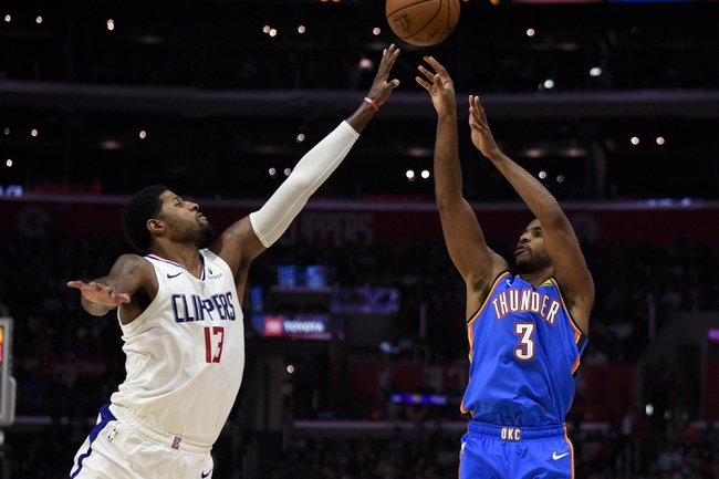 Oklahoma City Thunder vs. Los Angeles Clippers - 12/22/19 NBA Pick, Odds & Prediction