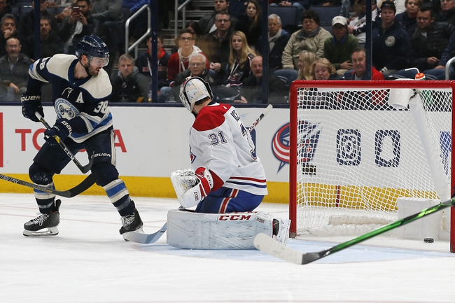 Montreal Canadiens vs. Columbus Blue Jackets - 2/2/20 NHL Pick, Odds, and Prediction