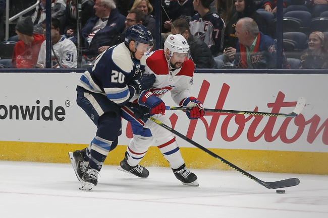 Montreal Canadiens vs. Columbus Blue Jackets - 2/2/20 NHL Pick, Odds & Prediction