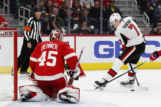 Detroit Red Wings vs. Ottawa Senators - 1/10/20 NHL Pick, Odds & Prediction