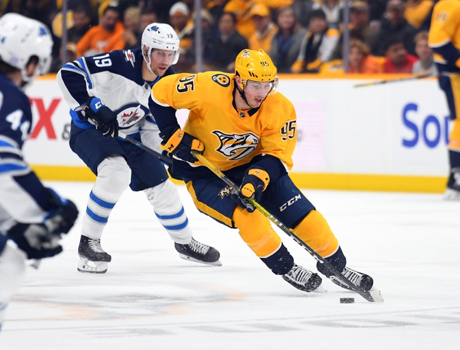 Winnipeg Jets vs. Nashville Predators - 1/12/20 NHL Pick, Odds & Prediction