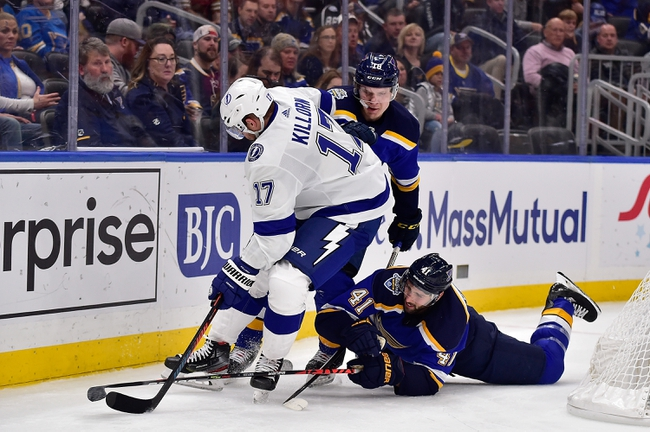 Tampa Bay Lightning vs. St. Louis Blues - 11/27/19 NHL Pick, Odds, and Prediction
