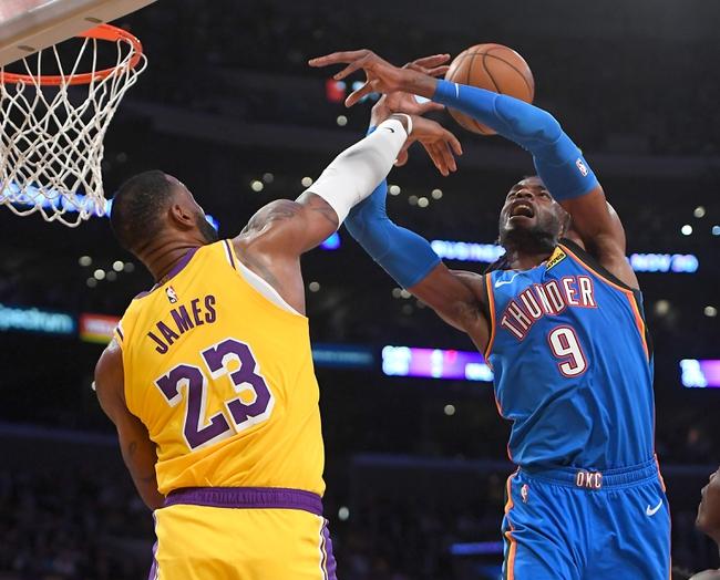 Oklahoma City Thunder vs. L.A. Lakers - 11/22/19 NBA Pick, Odds, and Prediction