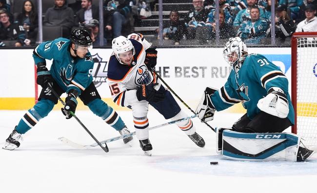 Edmonton Oilers vs. San Jose Sharks - 2/6/20 NHL Pick, Odds, and Prediction