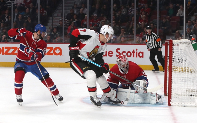 Montreal Canadiens vs. Ottawa Senators - 12/11/19 NHL Pick, Odds, and Prediction
