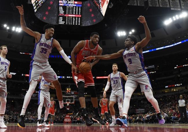 Detroit Pistons vs. Chicago Bulls - 12/21/19 NBA Pick, Odds, and Prediction
