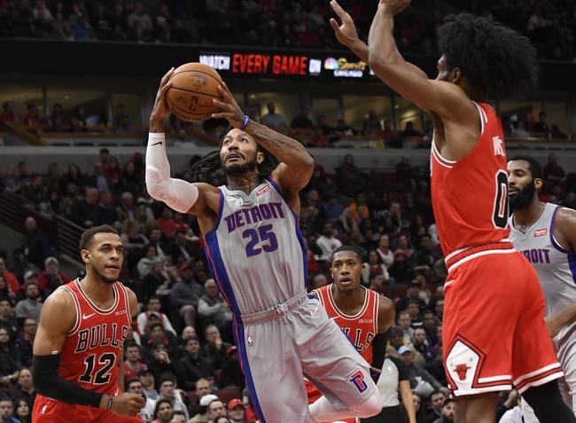 Detroit Pistons vs. Chicago Bulls - 12/21/19 NBA Pick, Odds & Prediction
