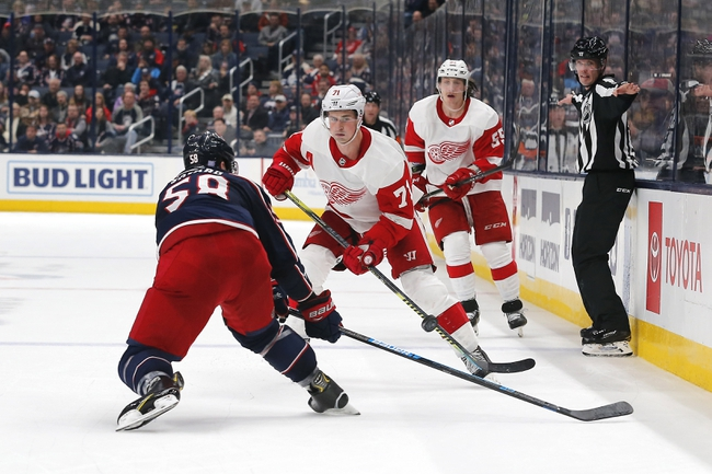Detroit Red Wings vs. Columbus Blue Jackets - 12/17/19 NHL Pick, Odds, and Prediction