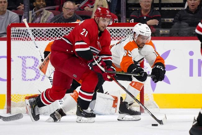 Carolina Hurricanes vs. Philadelphia Flyers - 1/7/20 NHL Pick, Odds & Prediction