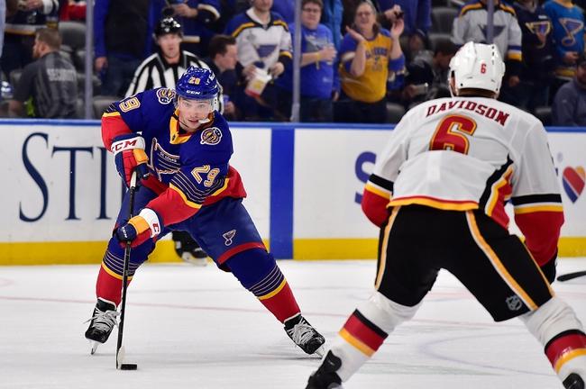 Calgary Flames vs. St. Louis Blues - 1/28/20 NHL Pick, Odds & Prediction