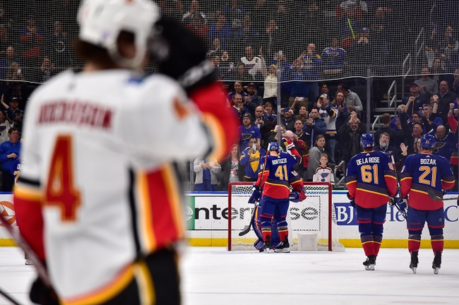 Calgary Flames vs. St. Louis Blues - 1/28/20 NHL Pick, Odds, and Prediction