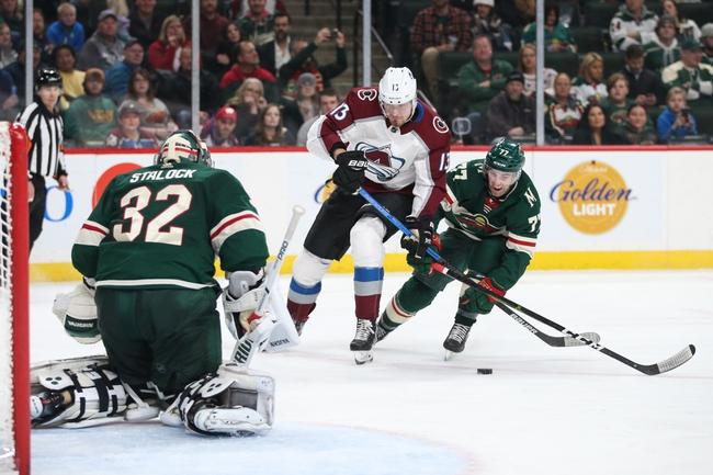 Colorado Avalanche vs. Minnesota Wild - 12/27/19 NHL Pick, Odds, and Prediction