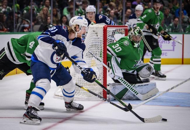 Winnipeg Jets vs. Dallas Stars - 12/3/19 NHL Pick, Odds, and Prediction
