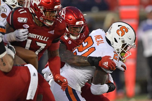 CFB Picks: Louisville vs Syracuse 11/20/20 College Football Picks, Odds, Predictions