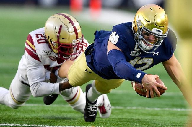 Stanford vs. Notre Dame - 11/30/19 College Football Pick, Odds, and Prediction
