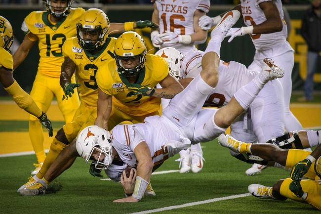 Texas vs Baylor College Football Picks, Odds, Predictions 10/24/20