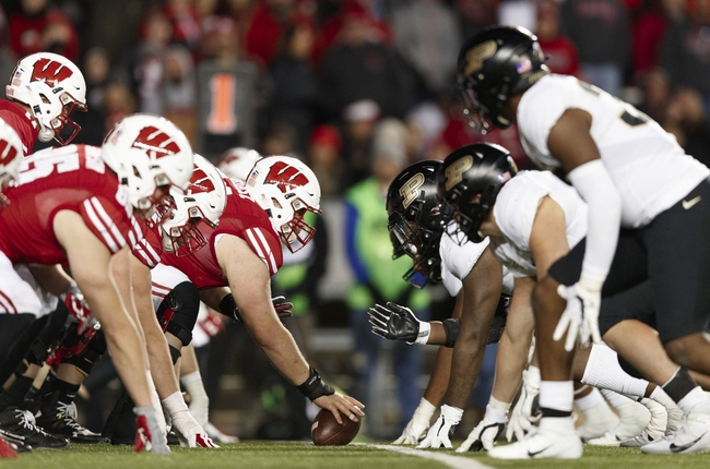 Cancelled: Wisconsin vs Purdue College Football Picks, Odds, Predictions 11/7/20