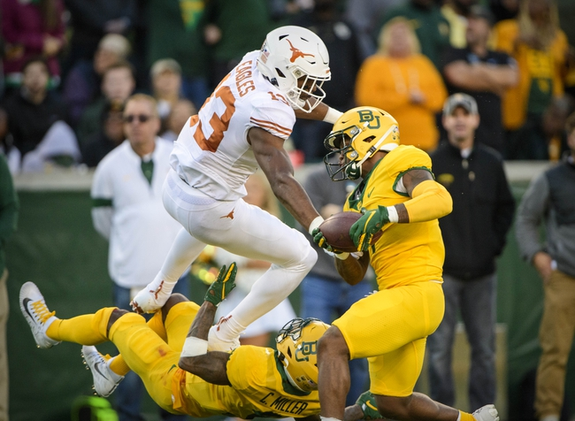 Baylor at Texas - 10/31/20 Early look College Football GOY Picks and Predictions
