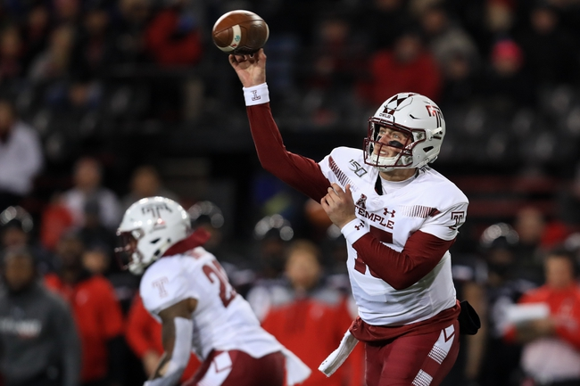 Temple Owls 2020 Win Total - College Football Pick, Odds and Prediction