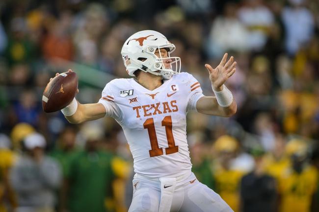 Texas vs. Texas Tech - 11/29/19 College Football Pick, Odds, and Prediction