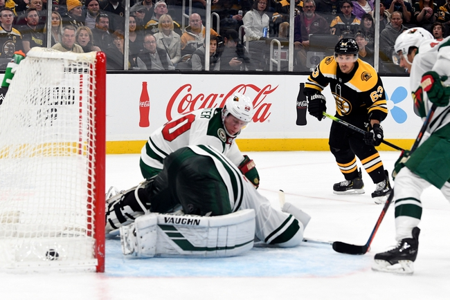 Minnesota Wild vs. Boston Bruins - 2/1/20 NHL Pick, Odds & Prediction
