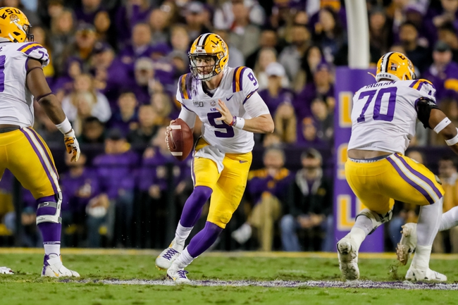 LSU vs. Texas A&M  - 11/30/19 College Football Pick, Odds, and Prediction