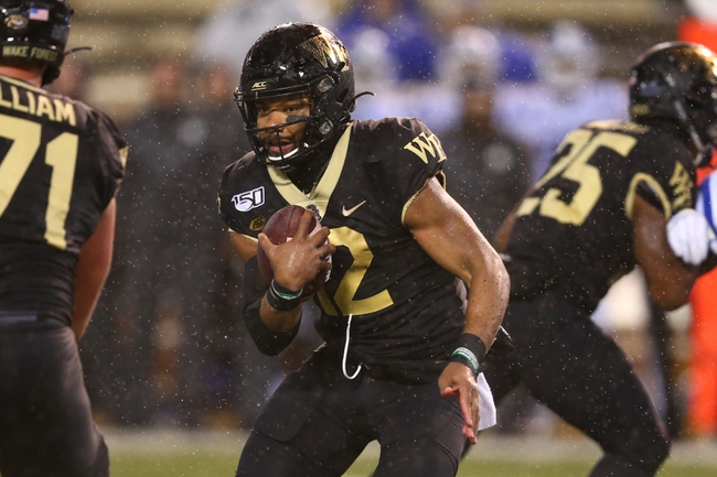 Syracuse vs. Wake Forest - 11/30/19 College Football Pick, Odds, and Prediction