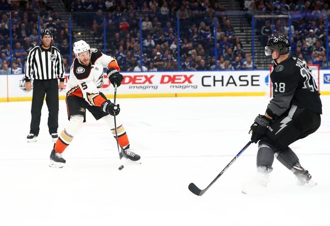 Anaheim Ducks vs. Tampa Bay Lightning - 1/31/20 NHL Pick, Odds & Prediction
