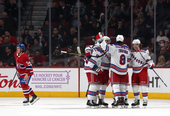 New York Rangers vs. Montreal Canadiens - 12/6/19 NHL Pick, Odds, and Prediction