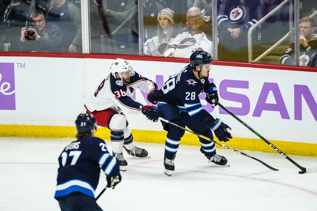 Columbus Blue Jackets vs. Winnipeg Jets - 1/22/20 NHL Pick, Odds, and Prediction