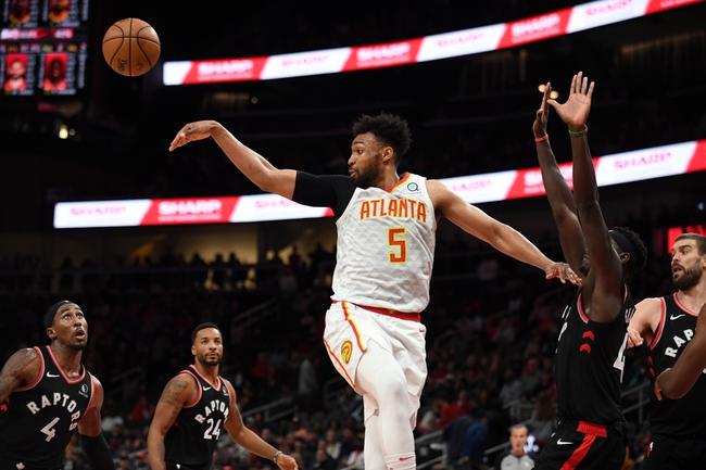 Atlanta Hawks vs. Toronto Raptors - 1/20/20 NBA Pick, Odds & Prediction