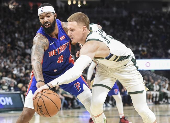 Milwaukee Bucks at Detroit Pistons - 12/4/19 NBA Pick, Odds, and Prediction