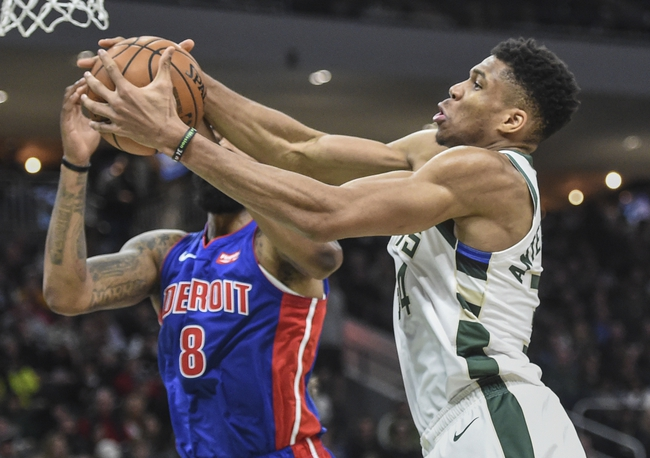 Detroit Pistons vs. Milwaukee Bucks - 12/4/19 NBA Pick, Odds, and Prediction