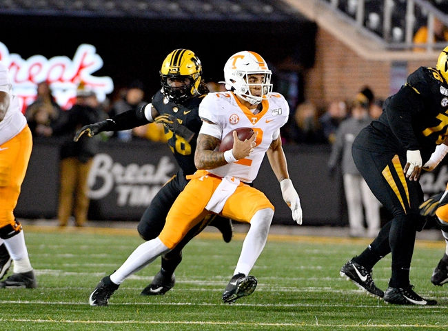 Tennessee vs. Vanderbilt - 11/30/19 College Football Pick, Odds, and Prediction