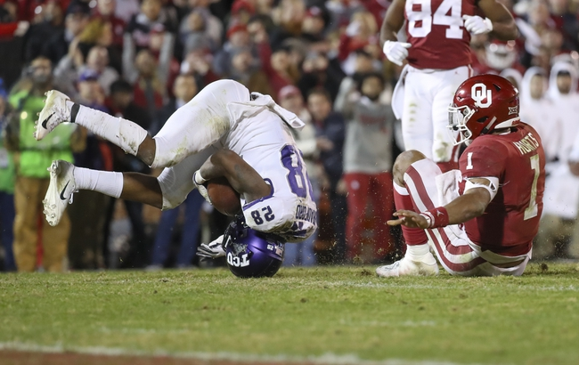 TCU Horned Frogs vs. West Virginia Mountaineers  - 11/29/19 College Football Pick, Odds, and Prediction